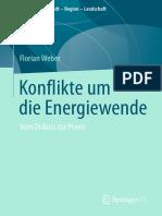 Konflikte um  die Energiewende - Florian Weber