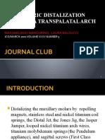 ASYMMETRIC DISTALIZATION WITH A TMA TRANSPALATAL ARCH