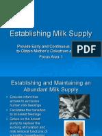 PQCNC Human Milk NCCC Track LS 1 Establishing Milk Supply
