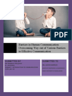Barriers in Human Communication Overcoming Way out of Various Barriers to Effective Communication.pdf