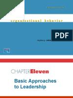 ORGANIZATIONAL BEHAVIOR BASIC APPROACH TO LEADERSHIP.ppt