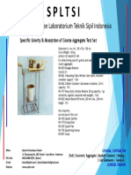 Specific Gravity & Absorption of Coarse Aggregate Test Set.pdf