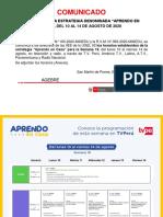 comunicado y horario semana 19 aprendo en casa.pdf