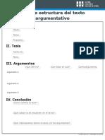 E - Estructura-de-texto-argumentativo