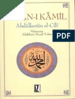 Insan i Kamil Abdulkerim El Cili Mecdi Tolun Tercumesi