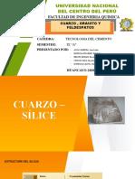 CUARZO-GRANITO-FELDESPATOS