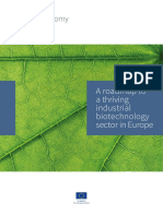 A roadmap to a thriving industrial biotechnology sector in Europe