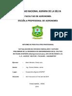 Evaluacion de la incidencia de enfermedades en palma aceitera