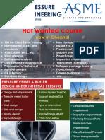 ASME Pressure vessel & boiler engineering course