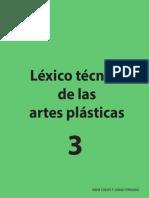 Léxico técnico de las artes plásticas tomo 3