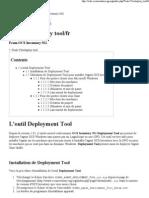 Tools_Teledeploy tool_fr - OCS Inventory NG