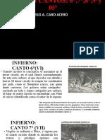 INFIERNO CANTOS 6-10