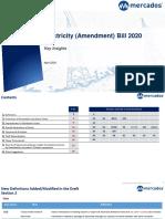 Mercados Insights_Electricity (Amendment) Bill 2020
