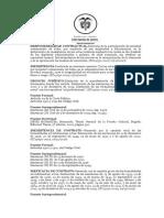 DOCUMENTO 2- CONTRATOS I - 2020-2 - FORMALIDADES AD SUBSTANTIAM ACTUS INEFICACIA, INEXISTENCIA, NULIDAD DEL CONTRATO SC19730-2017