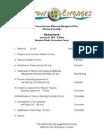 Agenda - 1/11/2011