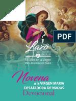 _NOVENA DE LA VIRGEN MARIA DESATADORA DE NUDOS