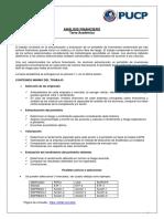 Tarea Académica - ANALISIS FINANCIERO PUCP