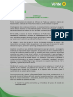 Comunicado Alianza Verde v-
