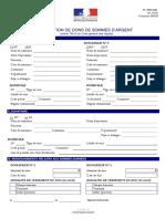 Declaration de dons de sommes d argent - Cerfa 13427 06