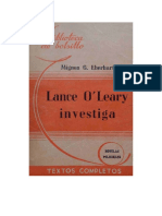 Eberhart, Mignon G - Lance O'Leary investiga[Rc]