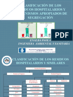 MECANISMOS APROPIADOS DE SEGREGACIÓN DE LOS RESIDUOS
