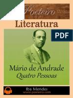 Quatro Pessoas - Mario de Andrade - Iba Mendes
