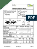 AOD 609 - Transistor de efeito de campo