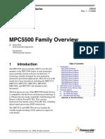 MPC 5500 Family - Microprocessador