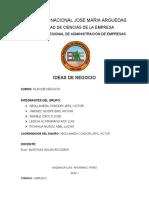 3 IDEAS DE NEGOCIO CONSOLIDADAS