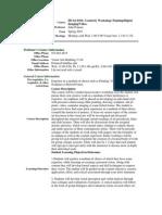 UT Dallas Syllabus for huas6391.001.11s taught by John Pomara (pomara)