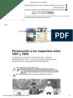 Persecución a los mapuches entre 1881-1929 - Felipe Portales
