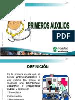 PRIMEROS AUXILIOS 3-4 H.2011