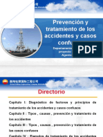 PREVENCION DE LOS ACCIDENTES, TRATAMIENTOS Y CASOS CONFUSOS