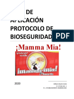 PROTOCOLO MAMMA MIA