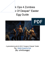 """Voyage of Despair"" Easter Egg Guide"