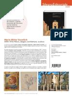 """Scheda libro in uscita """"MARIO MIRKO VUCETICH (1898-1975). Architettura, scultura, pittura, disegno"""". Silvana editoriale 2020"""