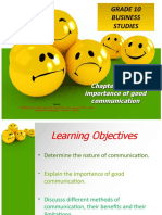 Chapter 16-The importance of good communication 1 - Copy