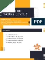 Presentación Semana 1- ENGLISH DOT WORKS 2