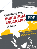 Changing the Industrial Geography in Asia