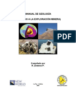 Manual de Geologia, para Exploracion Minera Richard Zenteno