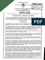 DECRETO 1090 DEL 3 DE AGOSTO DE 2020