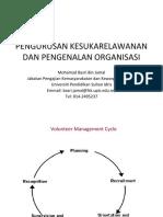 KULIAH 6_PENGURUSAN KESUKARELAWANAN DAN PENGENALAN ORGANISASI (1)