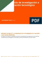 PROYECTOS DE COMERALIZACON