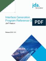 Platform 2018.1.0.0 Interface Generation Program Reference Guide