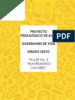 TALLER GRADO SEXTO PROYECTO