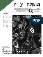 Revista Amor y Rabia, Nr. 56 (diciembre de 1999)