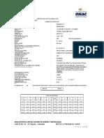 CERTIFICADO DE CALIBRACION micrometro