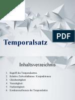 Temporalsatz
