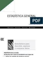 Semana09 Estadística General Prof Javier