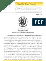 Sala Constitucional (Nov-2010) fija la interpretación de las normas de la Ley Orgánica Procesal del Trabajo que regulan el recurso de casación